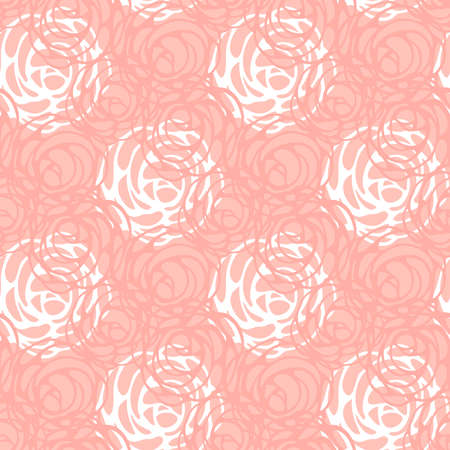 seamless rose pattern and background vector illustration