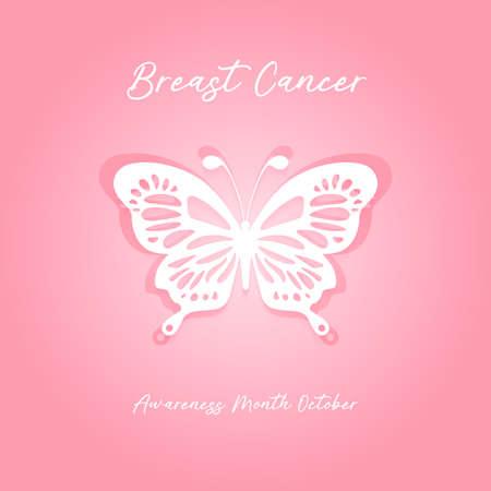 world breast cancer awareness month in october concept design vector illustration