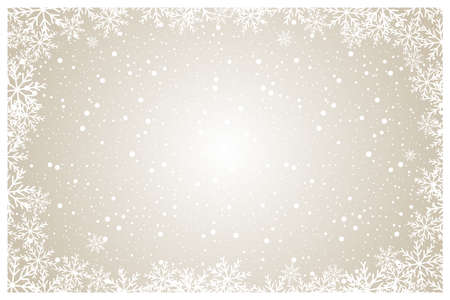 abstract christmas, new year and winter background vector illustration