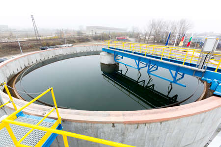 defecate: Rainwater treatment plant (RWTP). Environmentally friendly smelter.