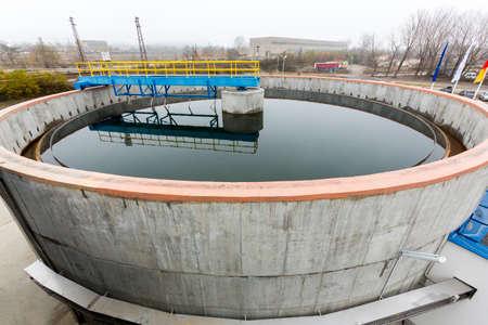 Rainwater treatment plant (RWTP). Environmentally friendly smelter.