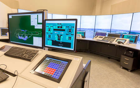 control center: Bulgarian Air Traffic Services Authority (BULATSA) control center.