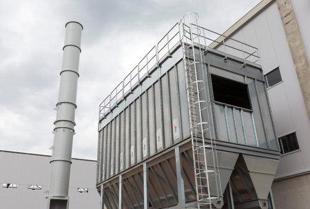organic waste: la segunda planta de residuos de Sof�a (planta de residuos org�nicos, residuos de la planta de energ�a, compostaje, incineraci�n, vertedero, el reciclaje, el compostaje en hileras) desde el exterior.