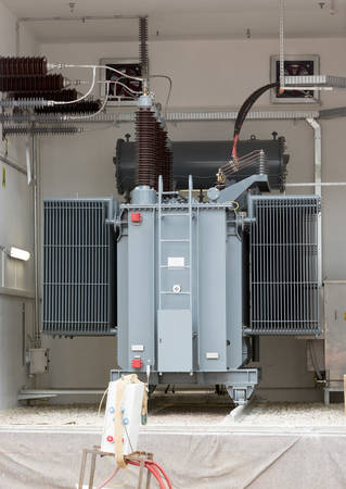 diesel generator: Sofias second waste plant heavy duty high voltage back up diesel power generator.