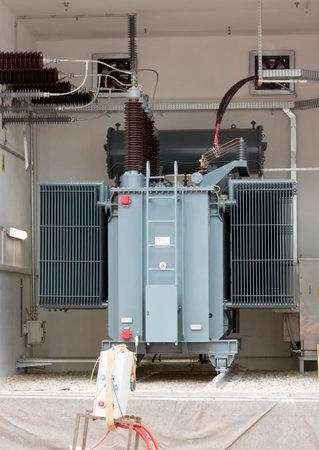 Sofia's tweede fabriek afval zware hoogspanning een back-up diesel generator.