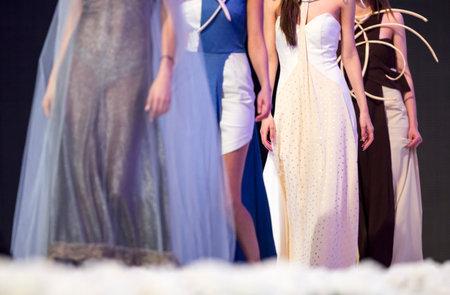 sofia: Female models walk the runway during the 2016 Sofia Fashion Week Show in Sofia, Bulgaria. Editorial