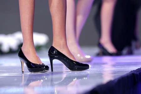 supermodel: Female models walk the runway during the 2016 Fashion Week Show
