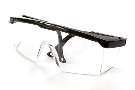 protective eyewear: Protective eyewear glasses isolated on a white background.