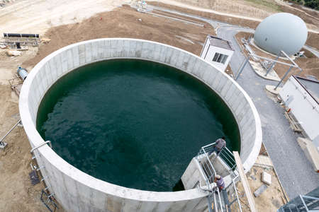 clarifier: Sludge Recirculation Clarifier Solid Contact Sedimentation Tank. Wastewater treatment plant. Wastewater treatment is a process used to convert dirty wastewater into an effluent that can be either returned to the water cycle with minimal environmental issu