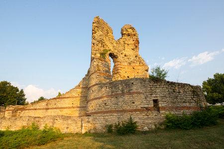 Kastra Martis fortress in Kula city, Bugaria. Publikacyjne