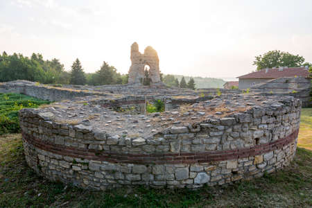 Kastra Martis fortress in Kula city, Bugaria.