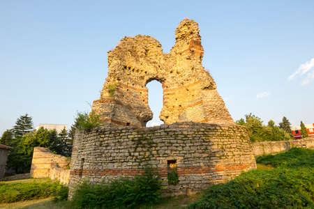 Twierdza Kastra Martis w mieście Kula, Bugaria. Zdjęcie Seryjne