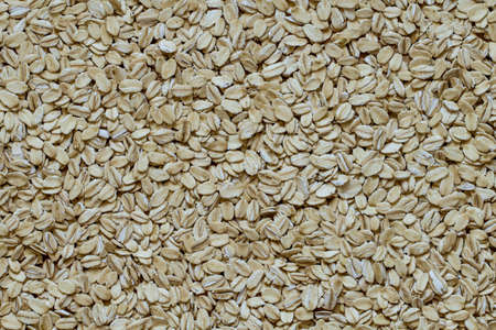 pile of smashed oat seed Stock Photo - 76325693