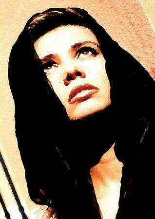 belle: femme prisonniere Illustration