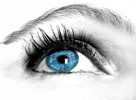 maquillage: blue eye