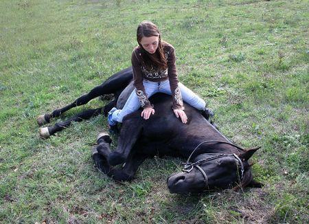 adn: complicidad hijo y caballo negro