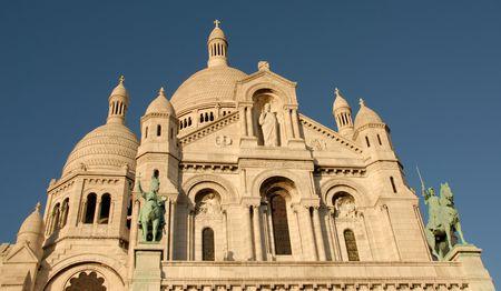 Basilique du Sacré Coeur, Montmartre, Paris, France Stock Photo - 2383346