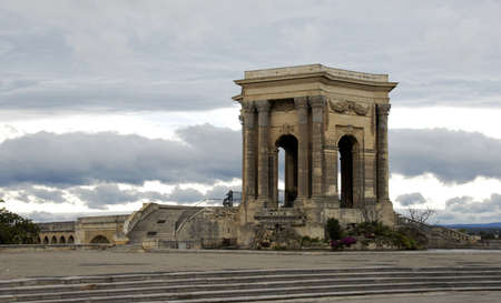 roussillon: Monument of Garden of Peyrou, Montpellier, Languedoc Roussillon