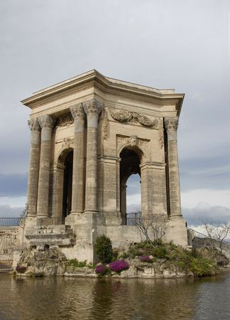 roussillon: Monument of Garden of Peyrou, Montpellier, Languedoc Roussillon, France
