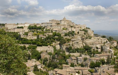 gordes: Gordes is a typical village of the Provence build on a hill