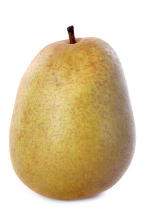 hardy: beurre hardy pear in front of white background