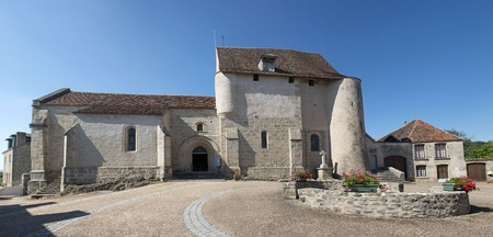 church of Glenic in the Creuse, Limousin, France Stock Photo - 20923320