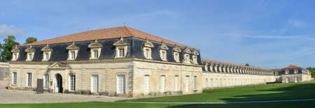 royale: panorama of the corderie royale in Rochefort, France