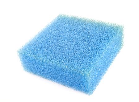 filtration: de caucho para la filtraci�n delante de fondo blanco Foto de archivo