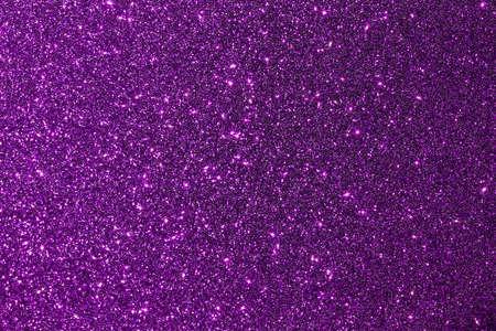 Sparkling purple glitter macro abstract texture background Reklamní fotografie