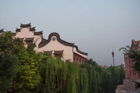 ancient architecture: Shandong taier Zhuang