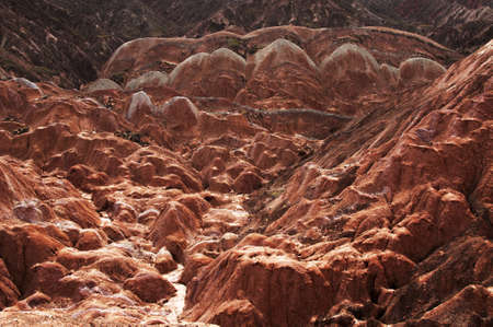 landforms: Danxia landform Stock Photo