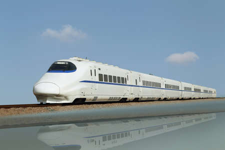 High-speed train china photo