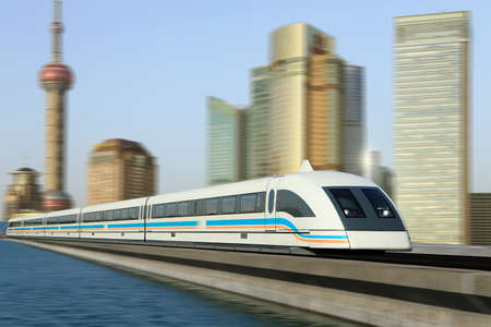 shanghai: Maglev train