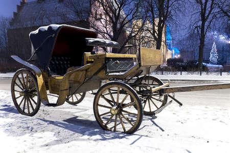 carriage Standard-Bild