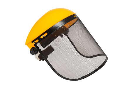 Schützender Bürstenschneider lokalisiert auf dem weißen Hintergrund Standard-Bild - 74355188