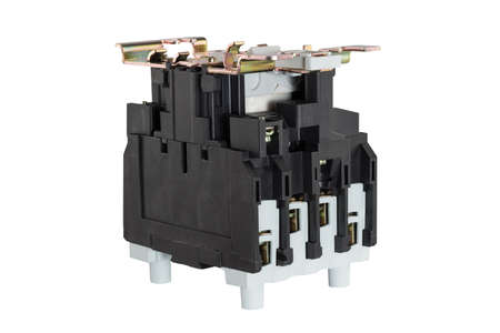 Contactor isolated on the white background