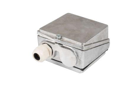 Engine box isolated on the white background