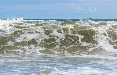 Big wave in the Baltic Sea Standard-Bild