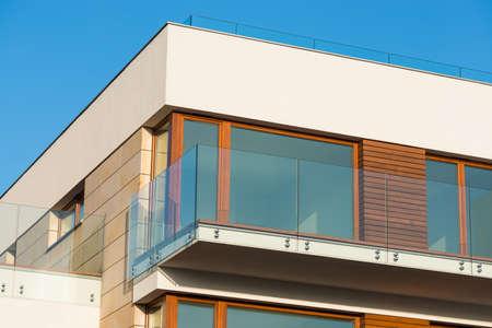 Detail of modern luxury apartment Standard-Bild