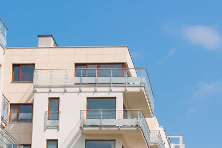 New modern apartment Standard-Bild