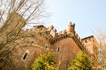 Castle background.