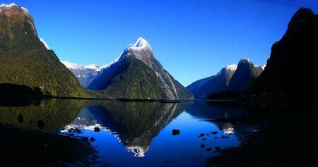 New Zealand, Milford Sound Stock Photo - 9357637