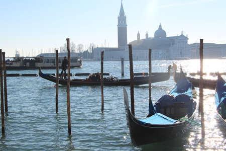 Gondolas Venice J