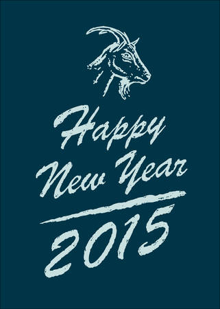 Happy new year 2015 Vettoriali