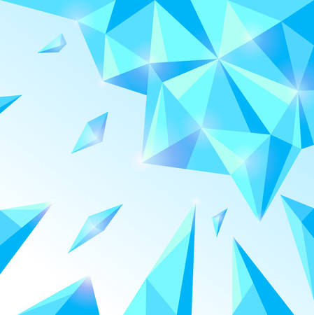 Ice abstract background