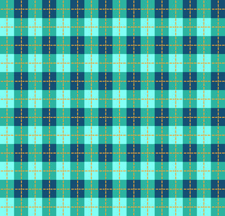 chequered drapery: Blue tablecloth
