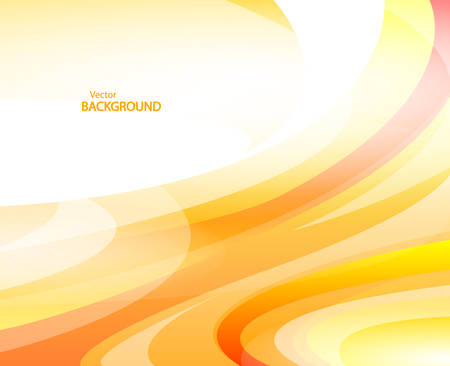 Yellow Waved background vector Illustration
