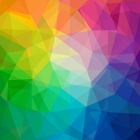 crystals: Colorful abstract vector background