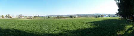 amish: Amish Farm  Stock Photo
