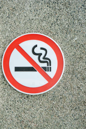 dont sign: Waring sign dont smoking